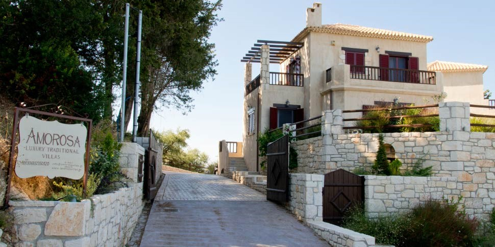 04 index - Amorosa Villas - Luxury Villas in Zakynthos Zante Greece